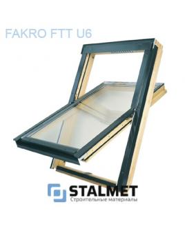Мансардное окно Fakro FTT U6 энергосберегательное – 78*98