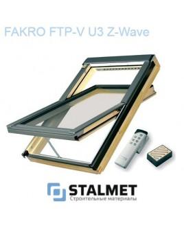 Мансардное окно Факро FTP-V U3 Z-Wave – 114*140